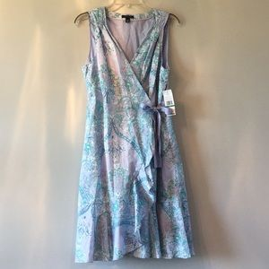 Summer Wrap Dress NWT